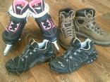 Коньки ,ботинки,кроссовки разм.38, фото №2
