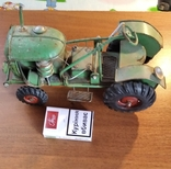Колекційний старий трактор., фото №2