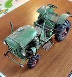 Колекційний старий трактор., фото №4