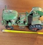Колекційний старий трактор., фото №8