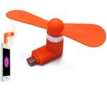 Портативный мини вентилятор для телефона, фото №2