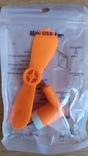 Портативный мини вентилятор для телефона, фото №4