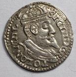 Сигизмунд III. Трояк. 1600 год., фото №2
