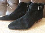 Ботинки topman замша, фото №2
