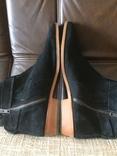 Ботинки topman замша, фото №6