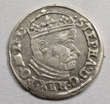 Трояк 1586. Баторий. Видеообзор, фото №2