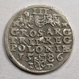 Трояк 1586. Баторий. Видеообзор, фото №3