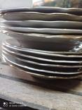 Набор з 12 тарілок Коростенський фарфор, фото №3