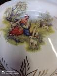 Набор з 12 тарілок Коростенський фарфор, фото №4