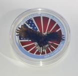 1 доллар 2019 г Орёл Австралии ,1 унция , 31.1 грамм., фото №5