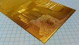 Сувенирная банкнота 500 Euro ( Евро) под золото, фото №6