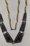 Бусы из кости моржа. Якутия., фото №12