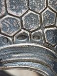 Пара подстаканников Слоны серебро 875 молотобоец СССР винтаж 50-х годов, фото №10