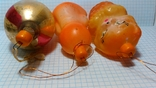 Три ёлочные игрушки одним лотом. Пупс, Котёнок в корзине и Толстая сосулька, фото №5
