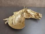 Пепельница Голова Лошади, старинная. Л968, фото №8
