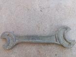 Старий бронзовий ключ, фото №2