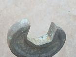 Старий бронзовий ключ, фото №4