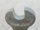 Старий бронзовий ключ, фото №5