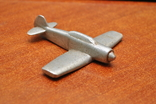 Модель самолета из дюралюминия. Ручная работа, фото №3