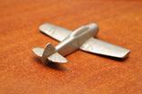 Модель самолета из дюралюминия. Ручная работа, фото №4