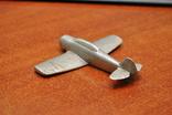 Модель самолета из дюралюминия. Ручная работа, фото №5