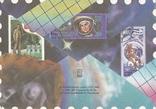"""ХМК СССР 1989 г. """"Посвященный филателистической выставке """"Космонавтика"""", фото №3"""