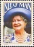 О-в Мэн 1990 королева мать, фото №2