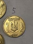 Лот монет: 50 копеек 1992 г. и 25 копеек 1992 г., фото №8