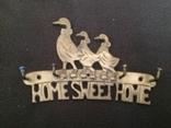 Крючки для ключей home sweet home, фото №2