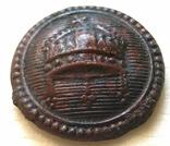 Пуговица Австро-Венгрия (Первая мировая война). Митра. 8-4, фото №2