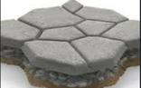 Форма для садовой дорожки Дикий камень 60 х 60 х 6 см, фото №3