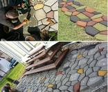 Форма для садовой дорожки Дикий камень 60 х 60 х 6 см, фото №5