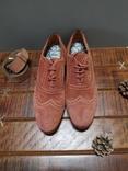 Итальянские стильные винтажные туфли 43 размер, фото №3