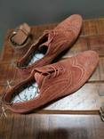 Итальянские стильные винтажные туфли 43 размер, фото №5