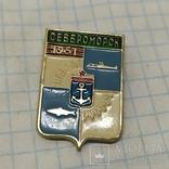 Значок Североморск. Рыба (Н), фото №2