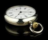 Швейцарские карманные часы Omega 1890-е. Обслужены., фото №3