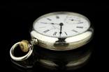 Швейцарские карманные часы Omega 1890-е. Обслужены., фото №5