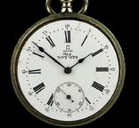 Швейцарские карманные часы Omega 1890-е. Обслужены., фото №7