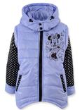 Куртка жилетка Міккі фіолет 110 ріст 1008b110, фото №2