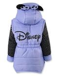 Куртка жилетка Міккі фіолет 110 ріст 1008b110, фото №3