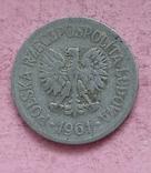 Польша 20 грошей 1961 год, фото №3