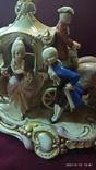 """Статуэтка """"Карета с герцогиней"""", 16,5 см, K. Sheidig, Grafenthal, Германия, фото №3"""