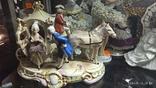"""Статуэтка """"Карета с герцогиней"""", 16,5 см, K. Sheidig, Grafenthal, Германия, фото №10"""