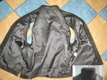 Оригинальный мужской кожаный жилет ECHT LEDER. Германия. Лот 878, фото №4