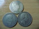5 фр + 5 лир + 5 марок 1811 Наполеон І Серебро, фото №2