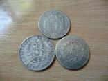 5 фр + 5 лир + 5 марок 1811 Наполеон І Серебро, фото №4