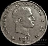 5 фр + 5 лир + 5 марок 1811 Наполеон І Серебро, фото №8