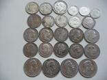 25 коллекционных серебряных монет, фото №3