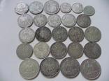 25 коллекционных серебряных монет, фото №5