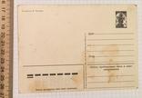 В. Зарубин, открытка чистая: С Новым годом! (Дед Мороз, мальчик, сани), 1980, фото №5